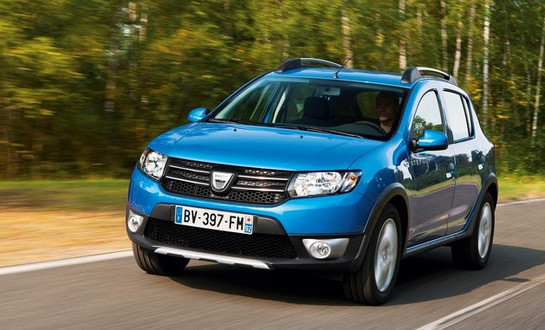 dacia sandero stepway promo video. Black Bedroom Furniture Sets. Home Design Ideas