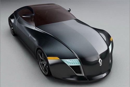 Renault Concept Car at Future Car Technologies