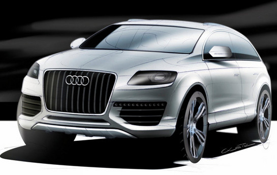 Audi Q8 To Rival Range Rover