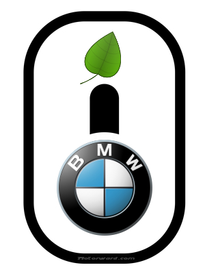 BMW i logo at Plug In Hybrid BMW coming in 2013