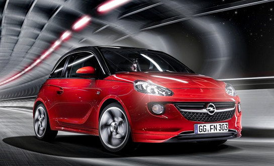 opel adam opc in the works. Black Bedroom Furniture Sets. Home Design Ideas