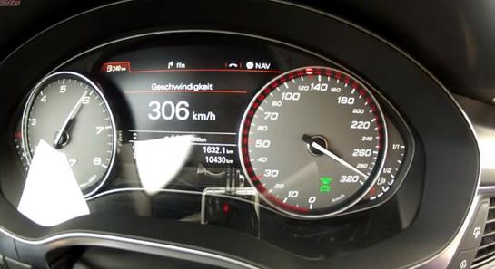 ABT Audi S7 Top Speed Run - Video