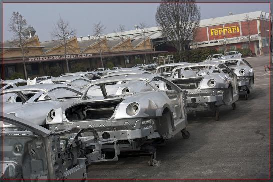 Scaglietti 04 Top at Motorward Visit to Carrozzeria Scaglietti