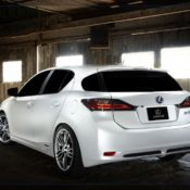2010 lexus ct 200h f sport concept rear 175x175 at Lexus History & Photo Gallery