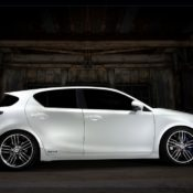 2010 lexus ct 200h f sport concept sdie 175x175 at Lexus History & Photo Gallery