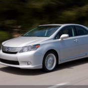 2010 lexus hs 250h front side 175x175 at Lexus History & Photo Gallery