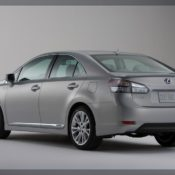 2010 lexus hs 250h rear 175x175 at Lexus History & Photo Gallery