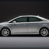 2010 lexus hs 250h side 175x175 at Lexus History & Photo Gallery