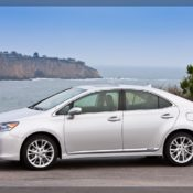2010 lexus hs 250h side 2 175x175 at Lexus History & Photo Gallery