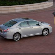 2010 lexus hs 250h side 3 175x175 at Lexus History & Photo Gallery