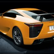 2010 lexus lfa with nurburgring rear 175x175 at Lexus History & Photo Gallery