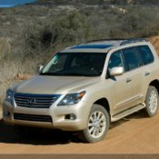 2010 lexus lx 570 sport luxury front 5 175x175 at Lexus History & Photo Gallery