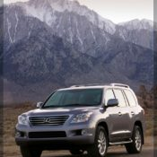 2010 lexus lx 570 sport luxury front side 2 175x175 at Lexus History & Photo Gallery