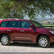 2010 lexus lx 570 sport luxury side 15 175x175 at Lexus History & Photo Gallery