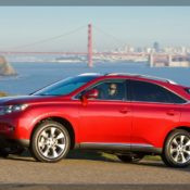 2010 lexus rx 350 side 3 175x175 at Lexus History & Photo Gallery