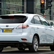2010 lexus rx 450h rear 175x175 at Lexus History & Photo Gallery