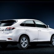 2010 lexus rx 450h rear side 175x175 at Lexus History & Photo Gallery