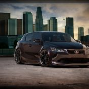 2011 ct 200h by five axis front 175x175 at Lexus History & Photo Gallery