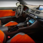 2011 ct 200h by five axis interior 175x175 at Lexus History & Photo Gallery