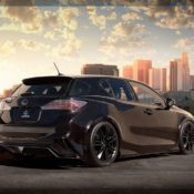 2011 ct 200h by five axis rear 175x175 at Lexus History & Photo Gallery