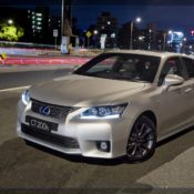 2011 lexus ct 200h f sport front 2 175x175 at Lexus History & Photo Gallery