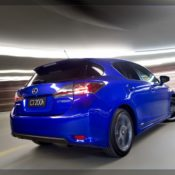 2011 lexus ct 200h f sport rear 175x175 at Lexus History & Photo Gallery