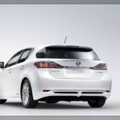 2011 lexus ct 200h rear 175x175 at Lexus History & Photo Gallery