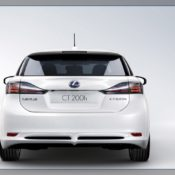 2011 lexus ct 200h rear 2 175x175 at Lexus History & Photo Gallery