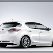 2011 lexus ct 200h rear sdie 175x175 at Lexus History & Photo Gallery
