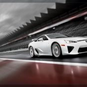 2011 lexus lfa front side 175x175 at Lexus History & Photo Gallery