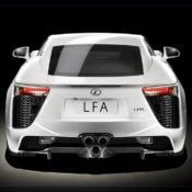 2011 lexus lfa rear 175x175 at Lexus History & Photo Gallery