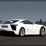 2011 lexus lfa rear side 175x175 at Lexus History & Photo Gallery
