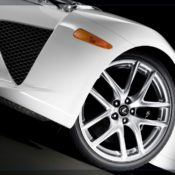 2011 lexus lfa wheel 175x175 at Lexus History & Photo Gallery