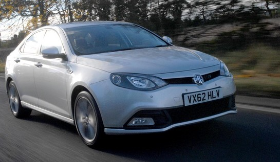 MG6 DTi TECH diesel at MG6 DTi TECH Diesel Launched In UK