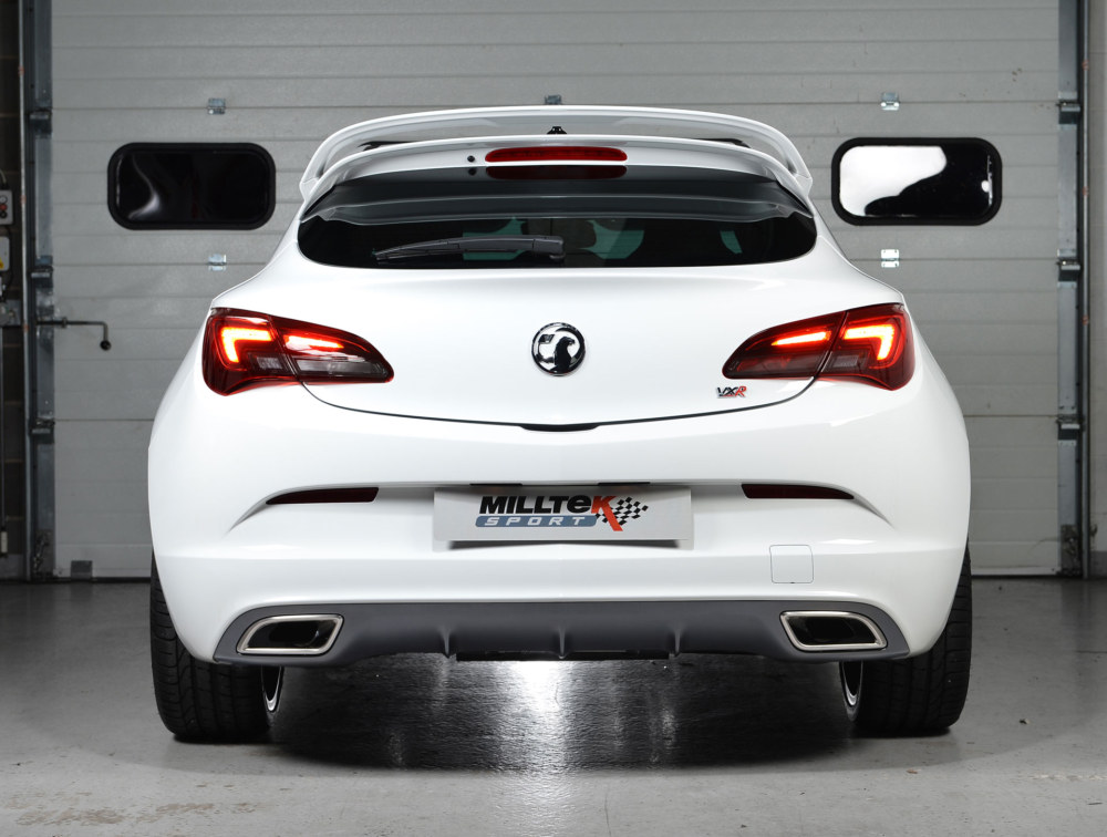 Milltek Exhaust System For Vauxhall Astra Vxr