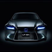 lexus lf gh hybrid concept front 175x175 at Lexus History & Photo Gallery