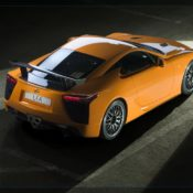 lexus lfa nurburgring package rear 175x175 at Lexus History & Photo Gallery