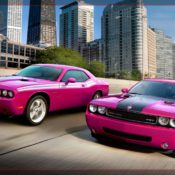 2010 dodge challenger rt classic furious fuchsia front 1 175x175 at Dodge History & Photo Gallery
