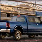2010 dodge ram 2500 laramie crew cab rear side 1 175x175 at Dodge History & Photo Gallery