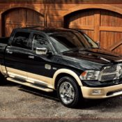2011 dodge ram laramie longhorn front side 3 175x175 at Dodge History & Photo Gallery