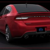 2013 mopar dodge dart gts 210 rear 2 175x175 at Dodge History & Photo Gallery