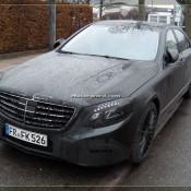 2014 Mercedes S Class Daylight Spyshots 08 175x175 at 2104 Mercedes S Class New Daylight Spyshots