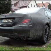 2014 Mercedes S Class Daylight Spyshots 12 175x175 at 2104 Mercedes S Class New Daylight Spyshots