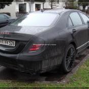 2014 Mercedes S Class Daylight Spyshots 13 175x175 at 2104 Mercedes S Class New Daylight Spyshots