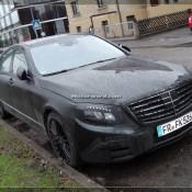 2014 Mercedes S Class Daylight Spyshots 15 175x175 at 2104 Mercedes S Class New Daylight Spyshots