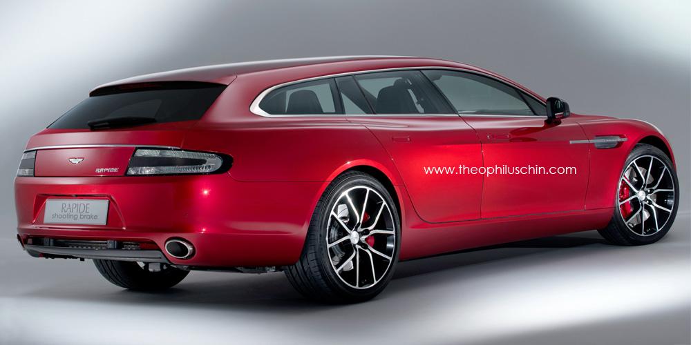 Rendering Aston Martin Rapide Shooting Brake