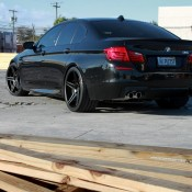BMW M5 on ADV1 Wheels 3 175x175 at Blacked out BMW M5 on ADV1 Wheels