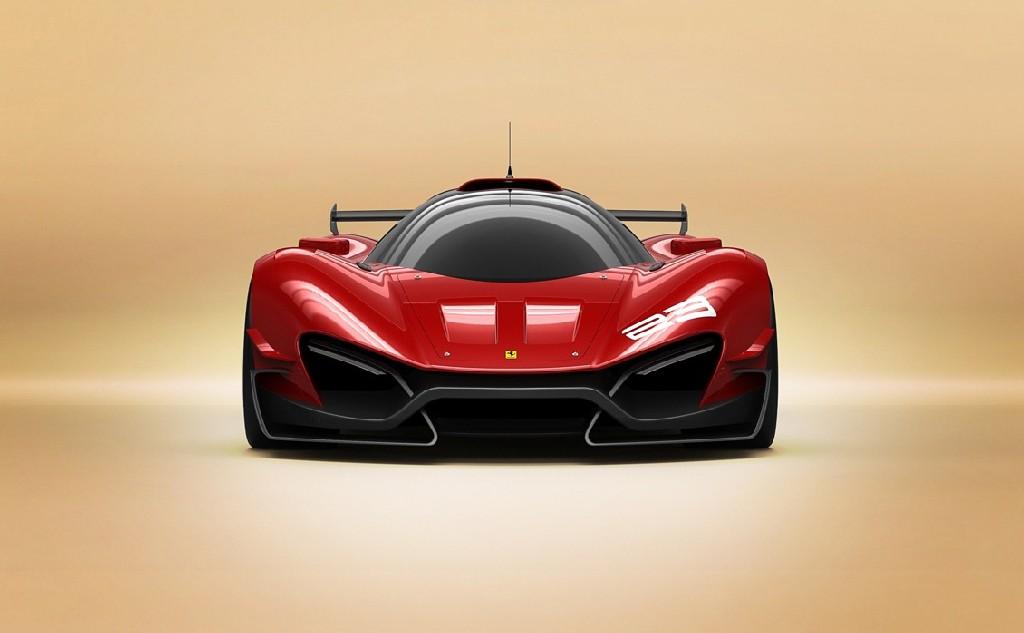 Ferrari Xezri Competizione Design Concept