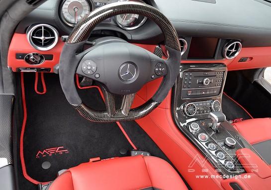 MEC Design W197 SLS mit extreme diffuser 50 545x381 at MEC Design Launches New Mercedes SLS Kit