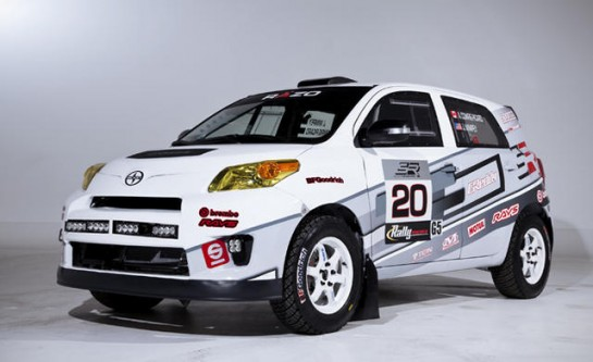 Scion xD RAlly 1 545x333 at 2013 Scion xD Rally Car Revealed